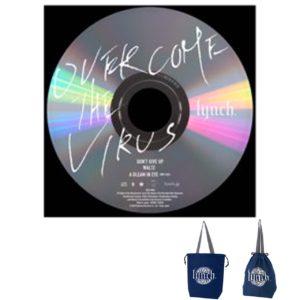 【B_4】OVERCOME THE VIRUS CD+巾着トート