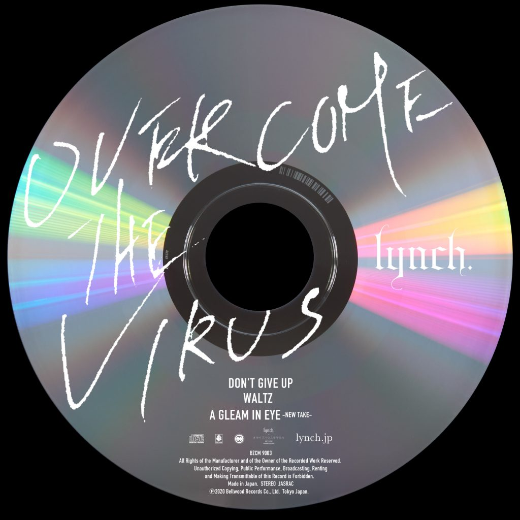 【C_4】OVERCOME THE VIRUS CD+パスケース+巾着トート